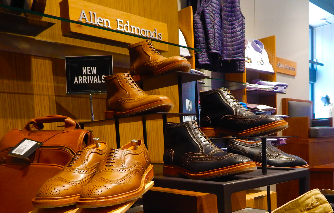 Wisconsin Avenue Welcomes Allen Edmonds