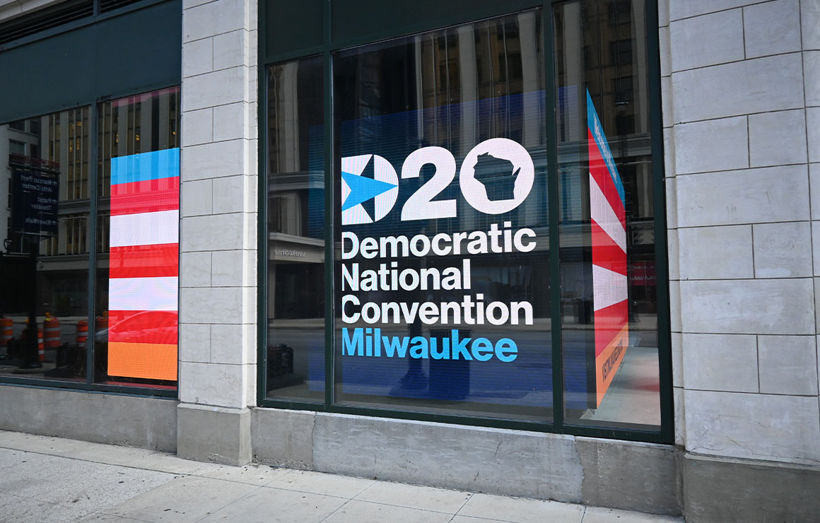 Democratic National Convention DNC Milwaukee Downtown