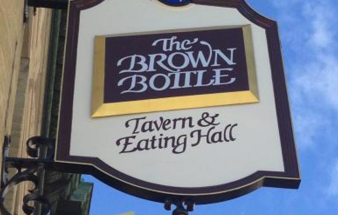 The Brown Bottle Resurrects Old World Charm