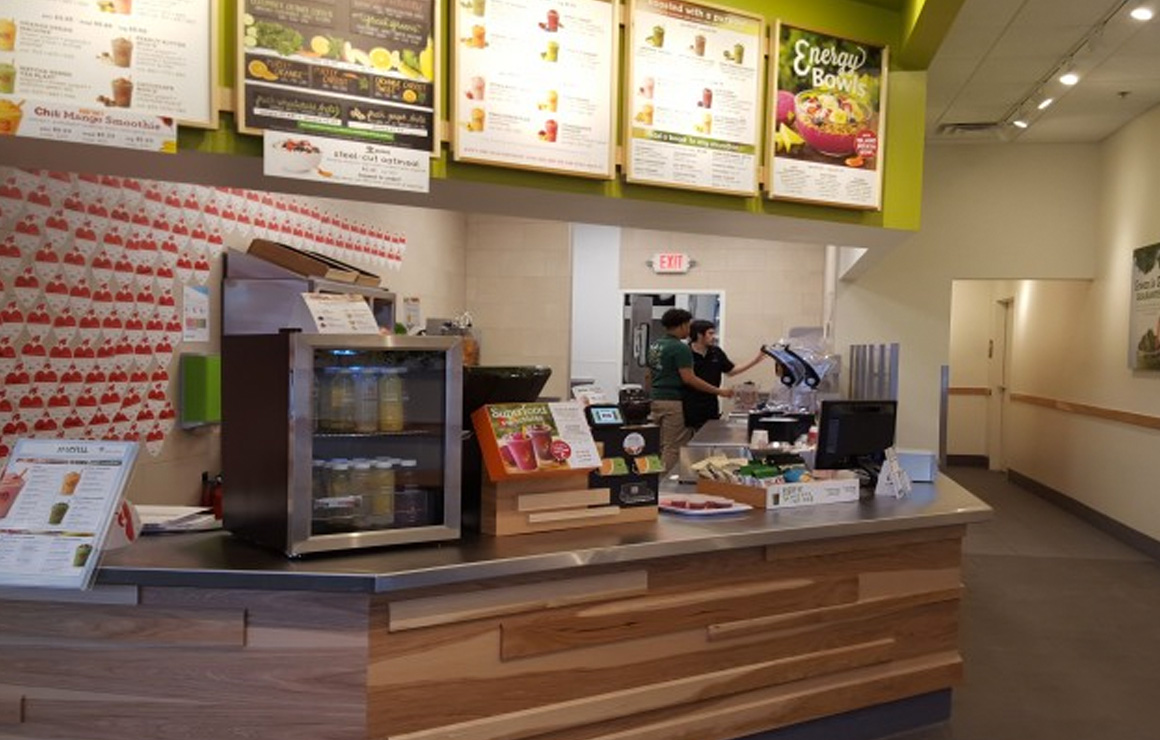 Jamba Juice Caters to Downtown's Active Lifestyle