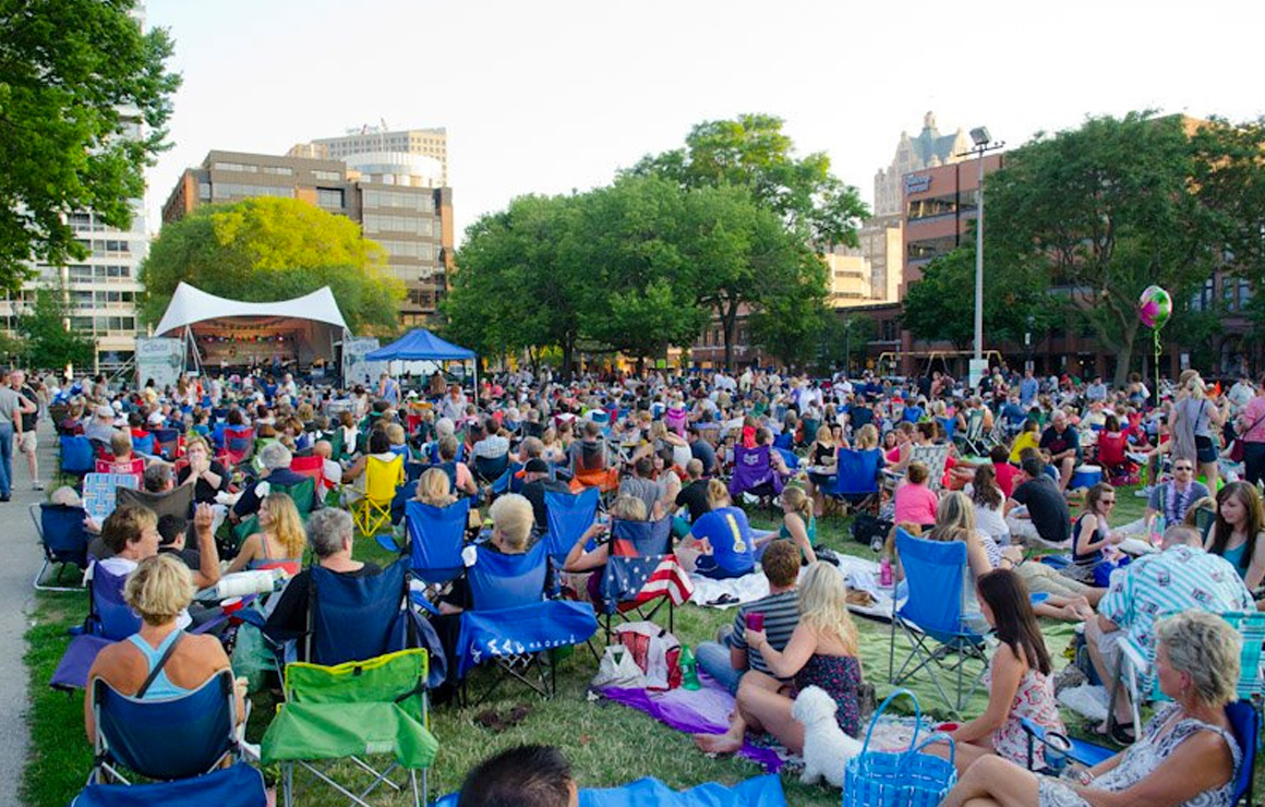Milwaukee Downtown Summer Concert Series' are in Full Swing