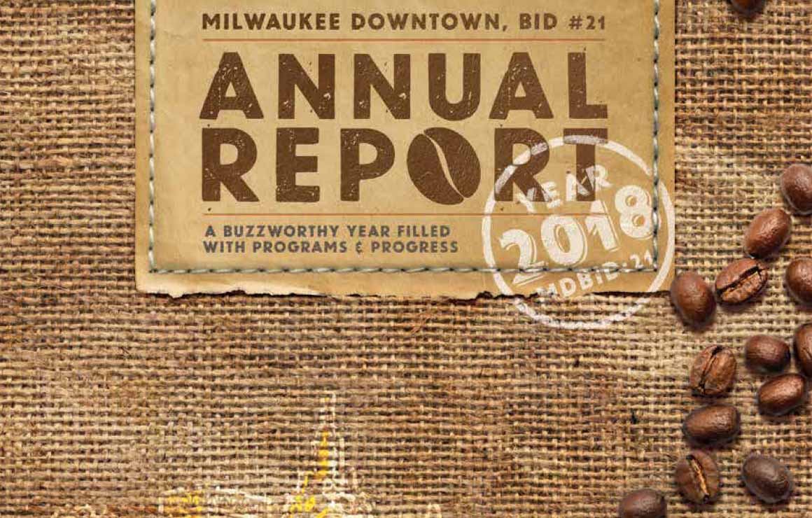 2018 Annual Report Milwaukee Downtown
