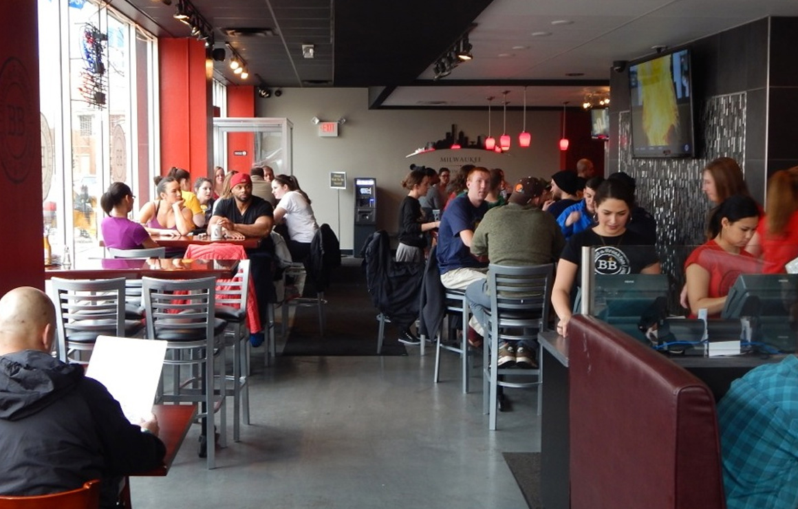 Build-a-Burger has a large clientele and offers a great selection to everyone