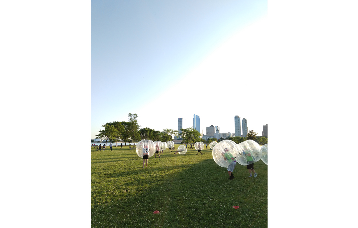 Photo of Bubble Soccer Milwaukee Downtown