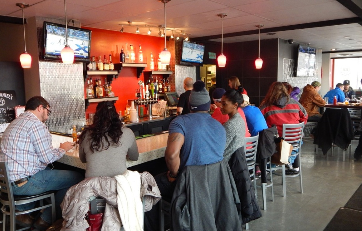 Make sure to get a drink along with your burger. Build-a-Burger offers a variety of drinks as well as burgers