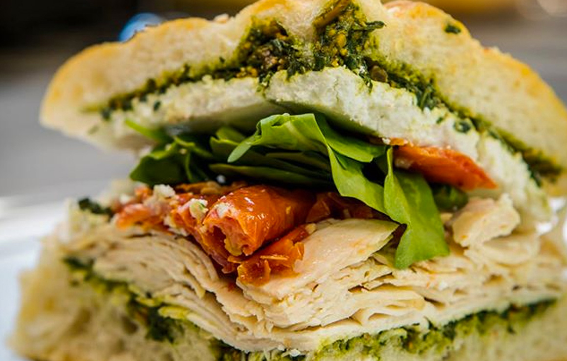 Fresh Thyme offers handmade sandwiches with fresh ingredients