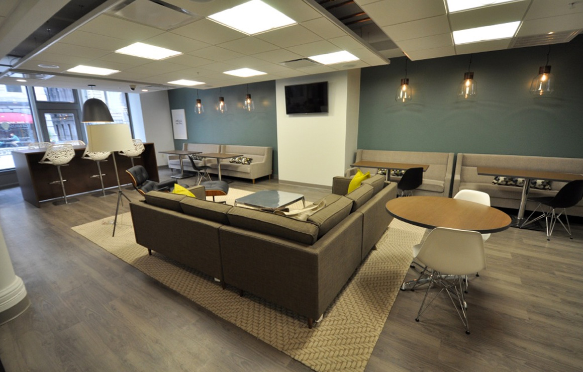 Milwaukee Downtown has a great space to offer those who don't work in a traditional office space