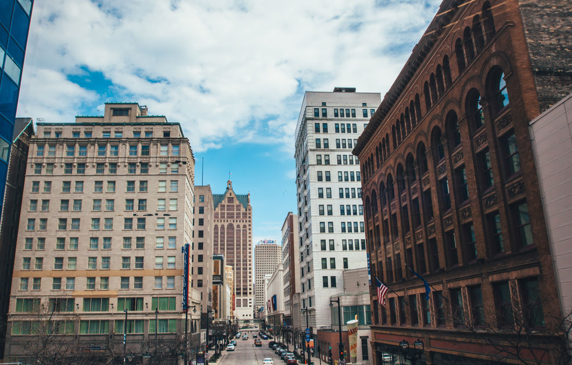 Wisconsin Avenue Milwaukee Downtown