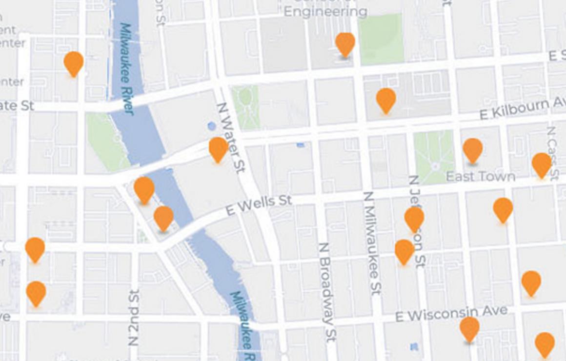Map Of Downtown Milwaukee Bid Basics | Milwaukee Downtown