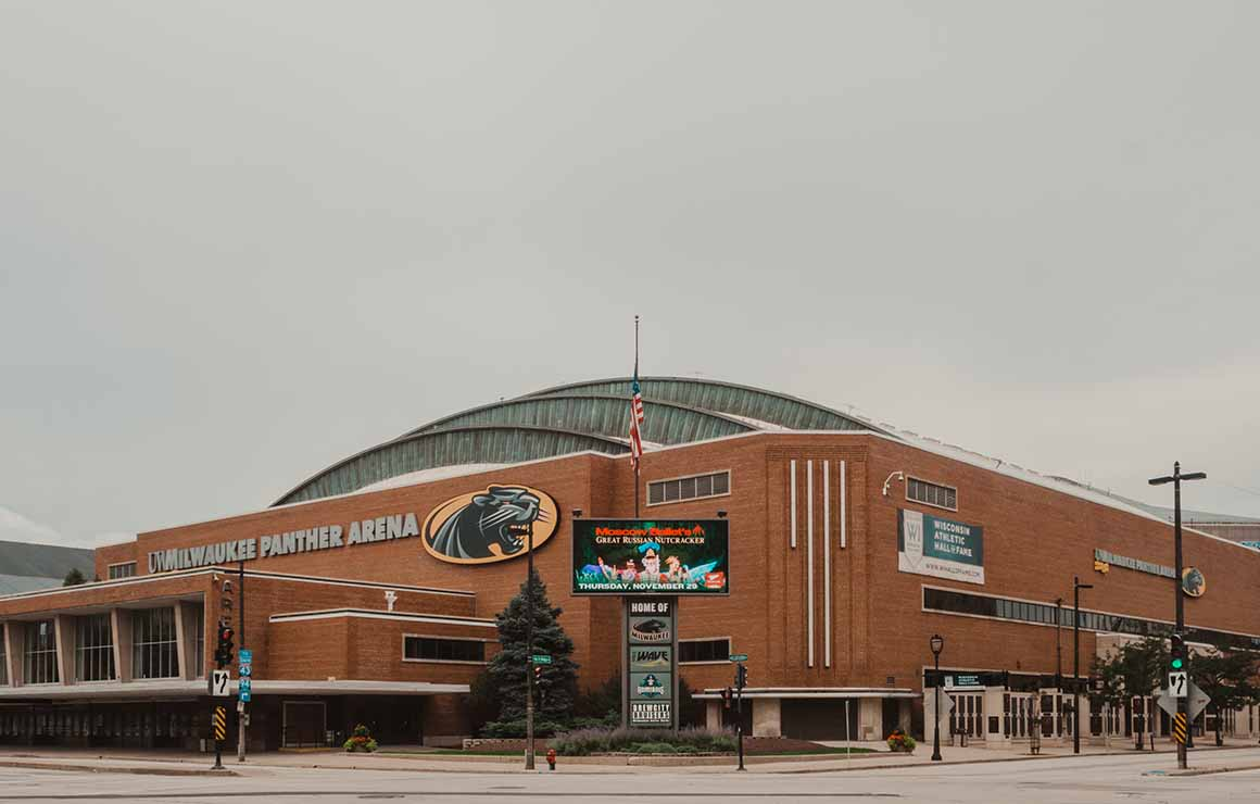 UWM Panther Arena Milwaukee Downtown
